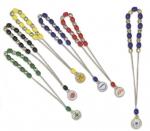 Κομπολόι με μεταλλικές και πλαστικές χάντρες. 77-66-T