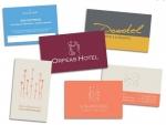 Κάρτες χάρτινες επαγγελματικές κάρτες
