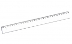 Χάρακας διάφανος 30 cm. 16942