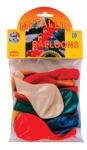 Μπαλόνια μεταλλικά χρώματα, 23cm.10 τεμαχίων. 25869