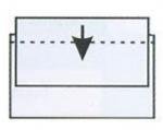 Αυτοκόλλητη θήκη για κάρτες 9,5x6εκ.  21236