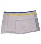 Τσαντάκι Comix διαφανές με πλαστικό φερμουάρ. 10828