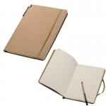 Σημειωματάριο Οικολογικό (eco)  με στυλό και λάστιχο. 22275