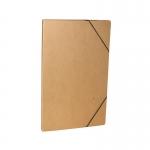 Οικολογικός φάκελος με λάστιχο, διαστάσεις Υ32x24x1. 03109