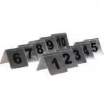 Αριθμοί τραπεζιού inox από 1 έως 10 Υ7x7.5εκ. βάση-35247-01