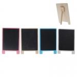 Πινακίδα μαυροπίνακα ξύλινη Υ13,5x9εκ-.35202