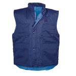 Αμάνικο μπουφάν οδηγών Αδιάβροχο. 2685-BLUE