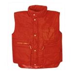 Αμάνικο μπουφάν οδηγών, ύφασμα. 2680-RED