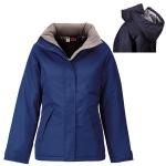 Γυναικείο μπουφάν, Αδιάβροχο με επένδυση. 2845-M-blue