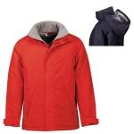 Γυναικείο μπουφάν, Αδιάβροχο με επένδυση. 2845-M-red