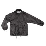 Αντιανεμικό αδιάβροχο μπουφάν, με κουκούλα. 2836-M-black