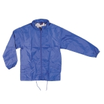 Αντιανεμικό αδιάβροχο μπουφάν, με κουκούλα. 2836-M-blue