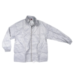 Αντιανεμικό αδιάβροχο μπουφάν, με κουκούλα. 2836-M-silver
