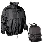 Αντιανεμικό μπουφάν Τσάντα. 2669-M-black