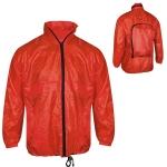 Αντιανεμικό μπουφάν Τσάντα. 2669-M-red
