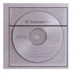 Αυτοκόλλητη θήκη για cd με καπάκι  21550