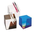 Κύβος πλαστικός με σπαστές γωνίες για χαρτιά. 1240