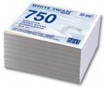 Φύλλα κύβου λευκά. 750 φύλλα, 9x9εκ. 01030