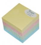 Αυτοκόλλητα χαρτάκια 4 χρώματα 5x5εκ. 400φ. 04745