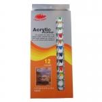 Ακρυλικό σετ 12 χρωμάτων, 12ml. 28919