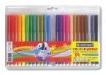Μαρκαδόροι ζωγραφικής washable 1mm 24 χρώματα. 29530