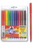 Μαρκαδόροι ζωγραφικής washable 1mm 12 χρώματα. 29529