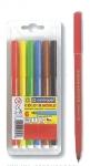 Μαρκαδόροι ζωγραφικής washable 1mm 6 χρώματα. 29528