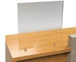 Διαχωριστικό προστασίας πάγκου, 120x80cm. E104