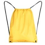 Σακίδιο πλάτης πουγκί, κίτρινο Υ42x34εκ. 29997-01