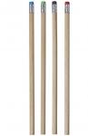 Μολύβι ξύλινο με σβήστρα .1284-M.