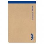 Μπλοκ σημειώσεων 12x17cm perforated 100 φ ριγέ, οικολογικό. 0308