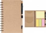 Μπλοκ σημειώσεων με θήκες post it και στυλό.1475-Μ