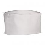 Καπέλο σεφ σε λευκό χρώμα One Size. 7115-Μ