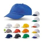 Καπέλο αμερικάνικο Βαμβακερό πεντάφυλλο σε 18 χρωματισμούς. 2550