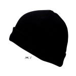 Σκούφος φλις Unisex, μαύρος. 88112 L-black