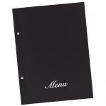 Μενού εστιατορίων basic Α4 23,5x32cm μαύρο  11250-09