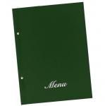 Μενού εστιατορίων πράσινο basic Α4 23,5x32cm.11250-05