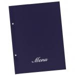 Μενού εστιατορίων μπλε basic Α4 23,5x32cm.11250-03