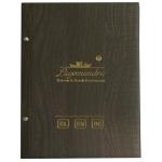Μενού εστιατορίων,Wood (δερματίνη με όψη ξύλου)11256-08