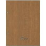 Μενού εστιατορίων,Wood καφέ ανοιχτό (δερματίνη με όψη ξύλου)1125