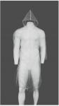 Ρόμπα Επισκέπτη μίας χρήσης, Ύψος 120cm. 11-35-08