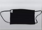 Μάσκες προστασίας με πιέτα μονόχρωμες , 100%  βαμβακερό. PXP-01