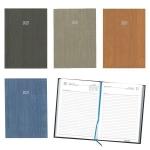Ημερήσιο ημερολόγιο δετό wood 14x21εκ.-02063