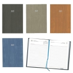 Ημερήσιο ημερολόγιο δετό wood 12x17εκ.-02064
