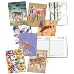 Ημερολόγιο ημερήσιο δετό art σε 8 σχέδια 02254