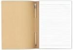 Μπλοκ με μολυβί 14x21cm με Εξώφ.300γρ κραφτ (eco) 1480