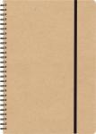Τετράδιο Σημειωματάριο 21x29cm. Εξώφ. κραφτ eco 300γρ. 1477-Γ