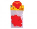 Μπαλόνια καρδιές κόκκινες. 25863
