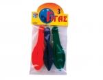 Μπαλόνια Γίγας, 45cm,.3ον τεμαχίων. 25870