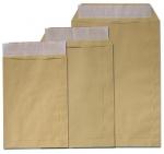 Φάκελοι σακούλα κραφτ 90 γραμμάρια με αυτοκόλλητο